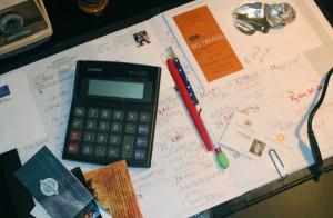 Date Book Day Planner Paper Old Fashioned Desktop Calendar