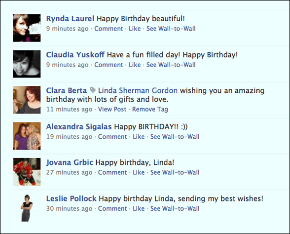why facebook - facebook birthday is a wonderful experience