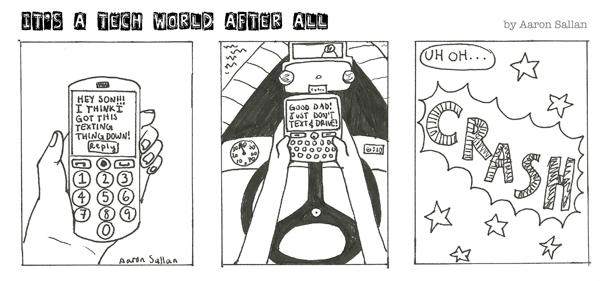 Comic Strip by art prodigy, Aaron Sallan
