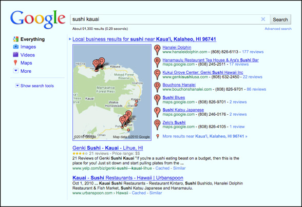 Local Search Tips for Small Business