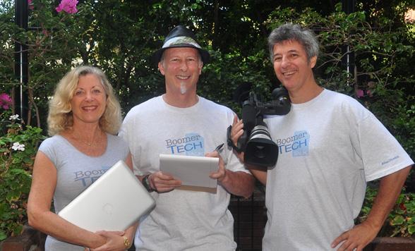 Linda Sherman, Bruce Sallan, Ray Gordon co-creators BoomerTechTalk
