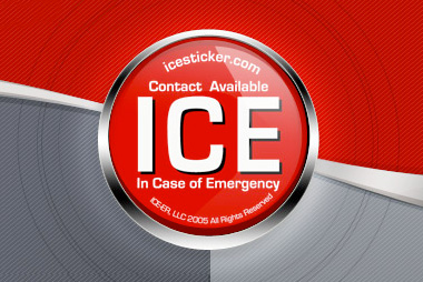 ICE in case of emergency logo 380 x 254