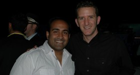Rohit Bhargava SVP Ogilvy PR with Doug Ulman, CEO LiveStrong following BWE10 keynote