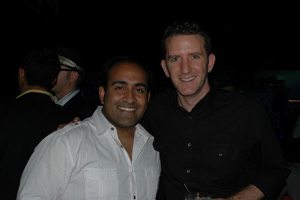 Rohit Bhargava SVP Ogilvy PR with Doug Ulman, CEO LiveStrong following BWE10 keynote