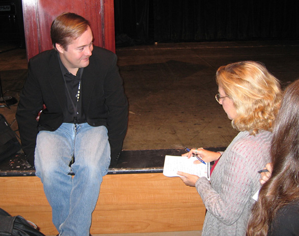 linda sherman with jason calacanis