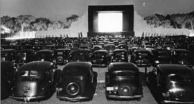 Drive-In Movie Theatre from the 40's