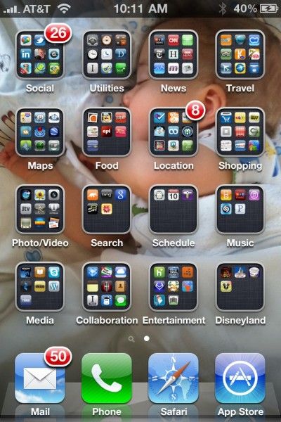 Robert Scoble iPhone Apps ScreenShot - photo by Robert Scoble