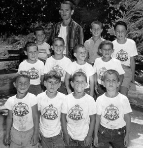 DW at Day Camp in 1958