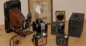 These old cameras are even before our time