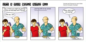 Tech World Comic About Twitter