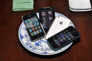 Phones in Bowl - Image by Ray Gordon