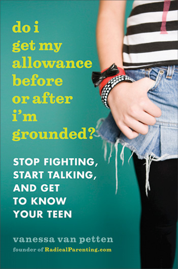 Book Cover for Vanessa Van Petten's New Book on Teens