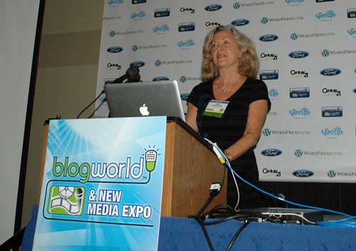 Linda Sherman Speaking at BlogWorld NYC 2011