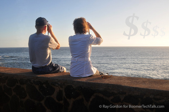 Retirees Couple Money Slipping Away by Ray Gordon