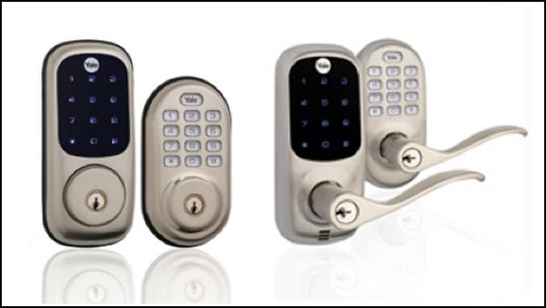 Yale keypad deadbolts