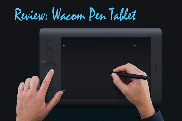 Wacom pen tablet review by architect and designer Ray Gordon