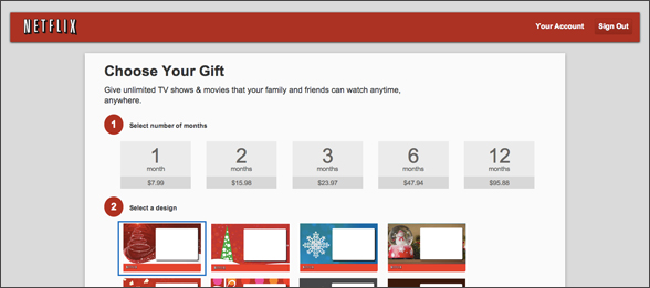 netflix gift add to your subscription image