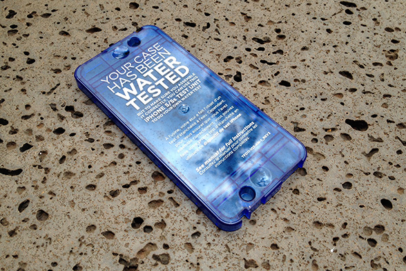 LifeProof water tester insert for the Nuud iPhone 5 case