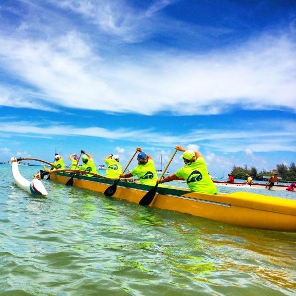 outrigger paddling regatta lifeproof nuud case photo