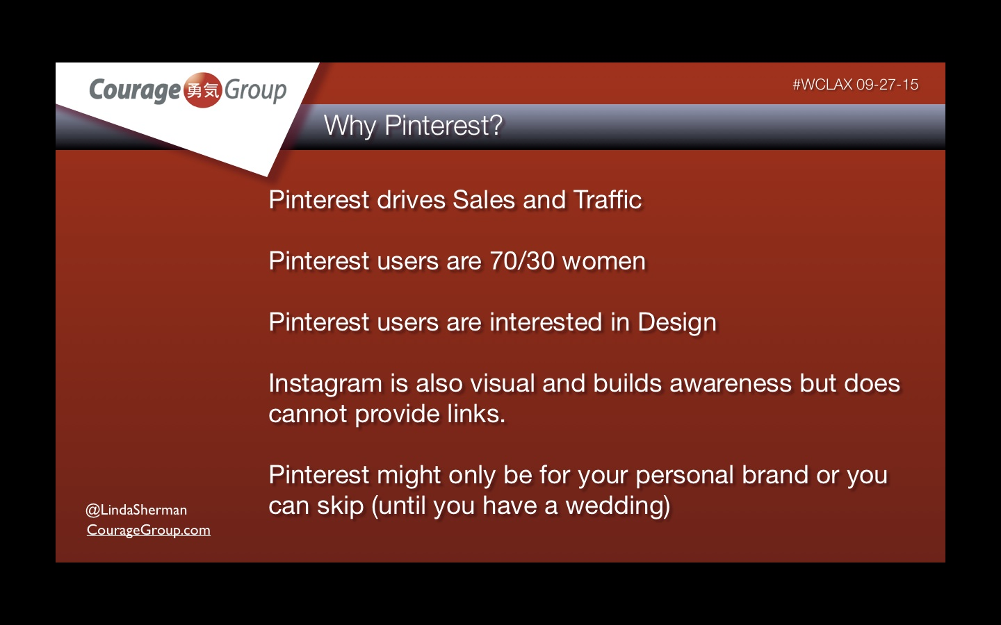 Why Pinterest for Web Dev and Designers by Linda Sherman