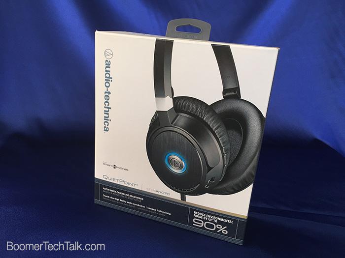 Audio-Technica NC headphones box