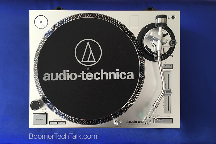 AT-LP120 USB Turntable top view