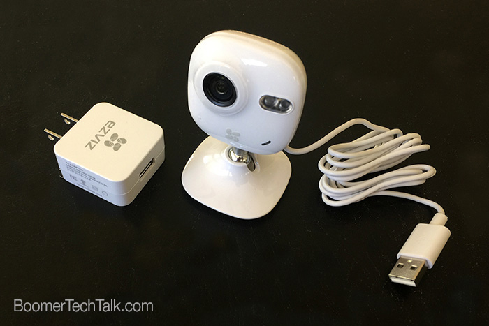 EZVIZ Mini basic components, wireless home security cameras