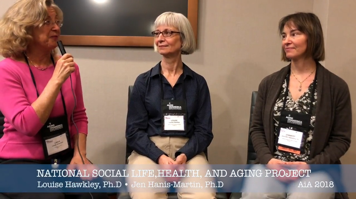 NORC National Social Life, Health, and Aging Project (NSHAP)