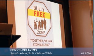 bully free zone signage 30th street senior center