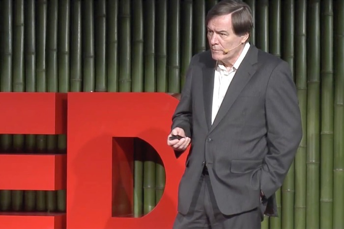 Bill Hall speaking at TEDxTokyo.