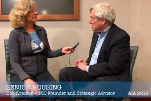 Bob Kramer NIC founder interview w Linda Sherman Seniors Housing