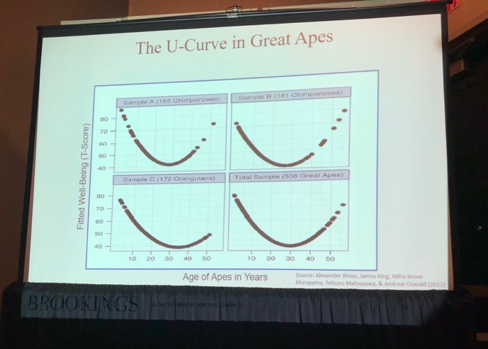 Primatology: U-Curve in Great Apes 2012 Research Jonathan Rauch Presentation